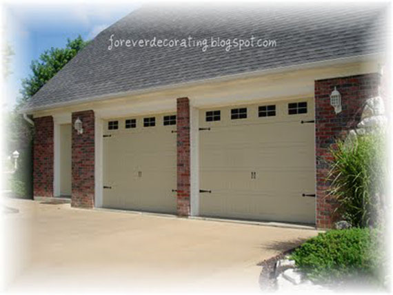 Total Cost For This Project Was Just The Cost Of Paint And Sealeru2026around  $25. Iu0027d Say Thatu0027s About A Penny On The Dollar Of What Real Carriage  Garage Doors ...
