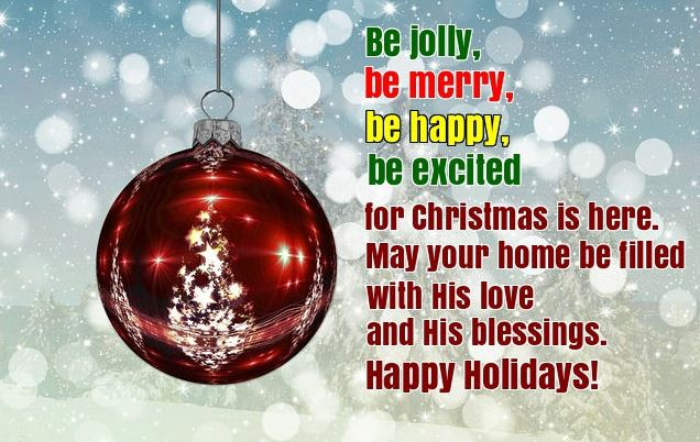 Xmas Wishes and Merry Christmas Greetings Quotes