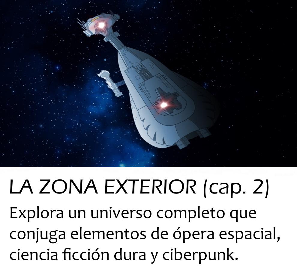 La Zona Exterior (D. D. Puche) | Onirium. Fantasía, terror y ciencia ficción.