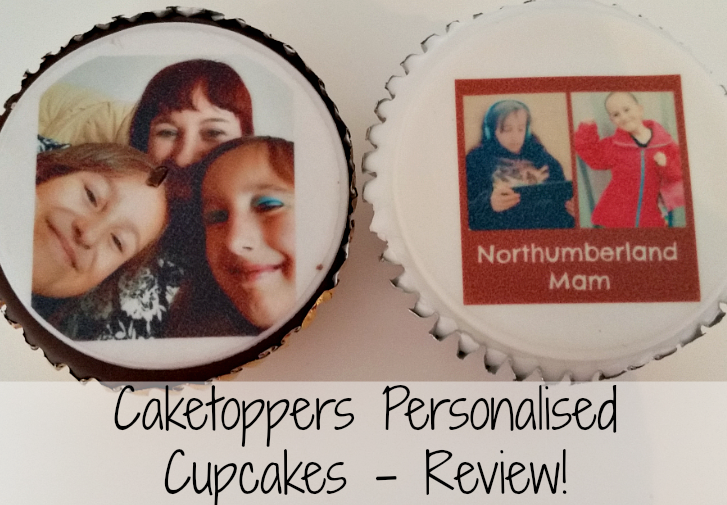 Northumberland Mam: Caketoppers Personalised Cupcakes ...