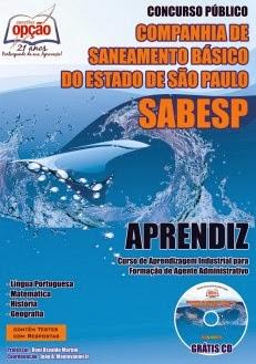 Apostila Concurso Sabesp - Aprendiz Agente Administrativo