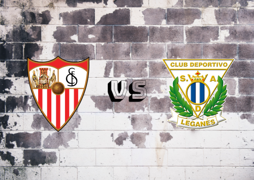 Sevilla vs CD Leganés  Resumen