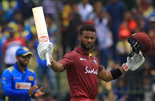 Shai Hope 110 - West Indies vs Sri Lanka 1st ODI 2021 Highlights