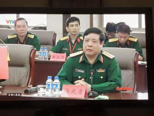 Đại tướng Phùng Quang Thanh có sẵn tên tiếng Tàu?