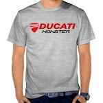 Kaos Distro Murah Ducati SK47 Asli Cotton