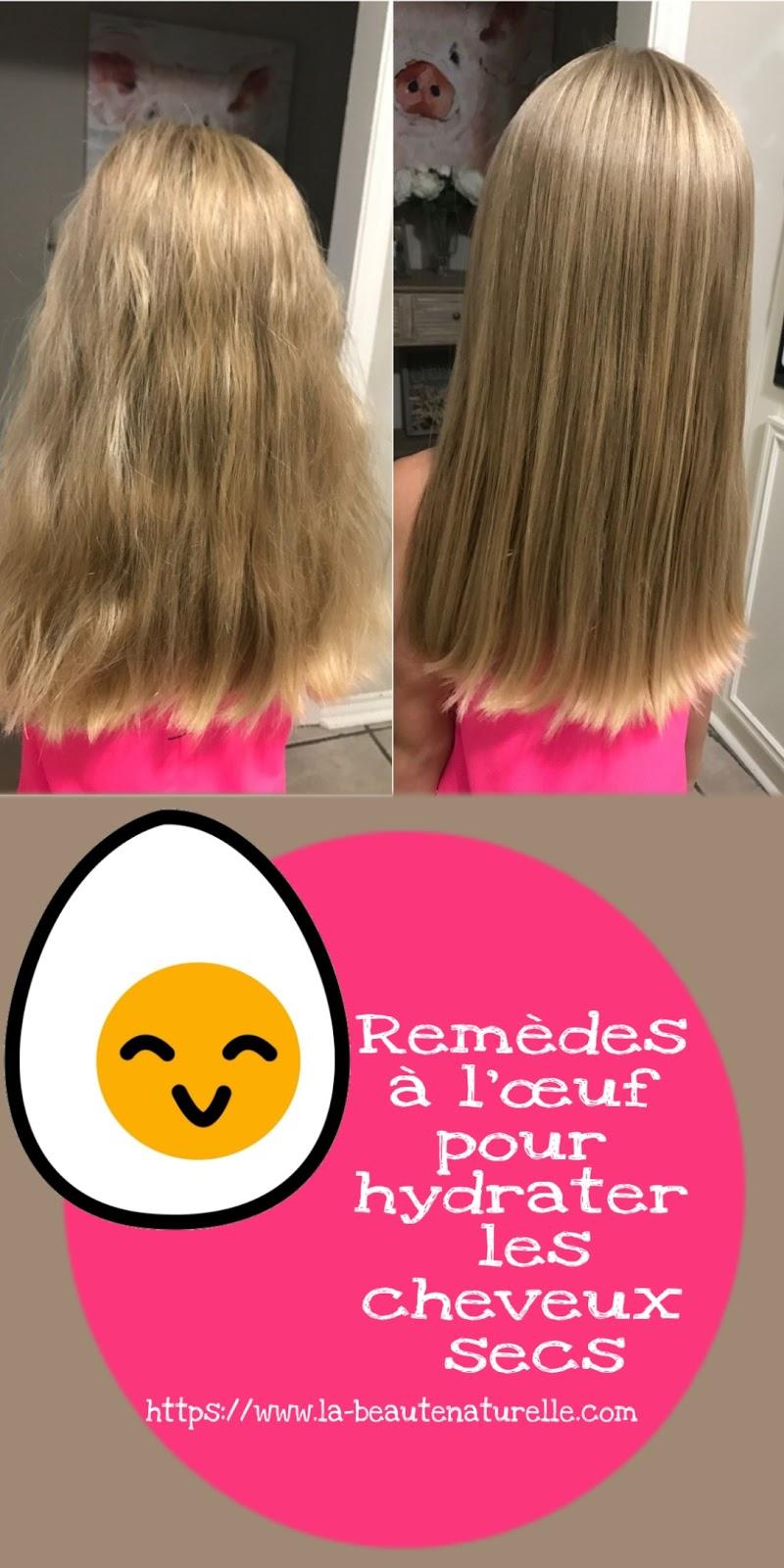 Remèdes à l'œuf pour hydrater les cheveux secs