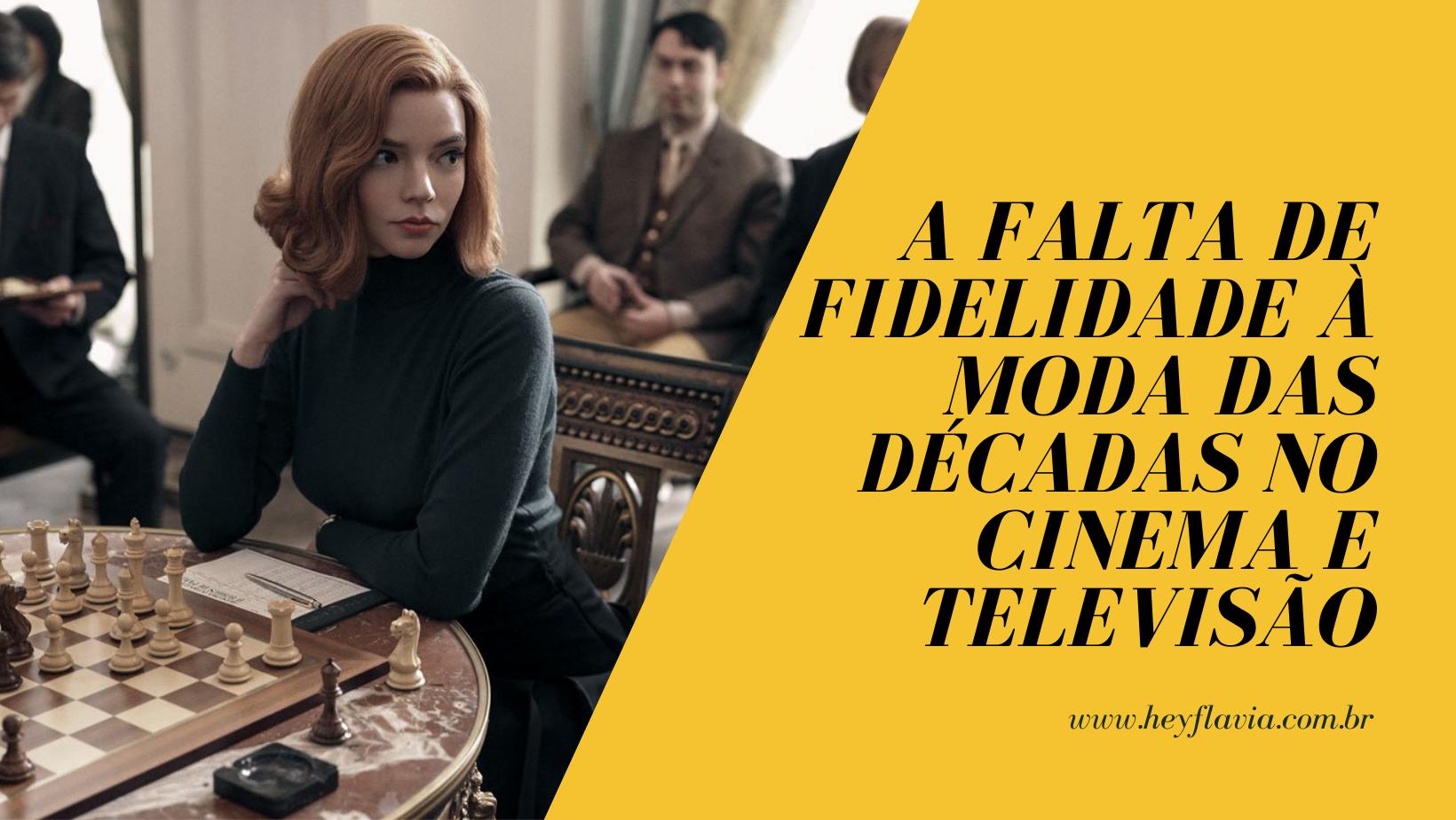 Fidelidade da moda de décadas no cinema e televisão