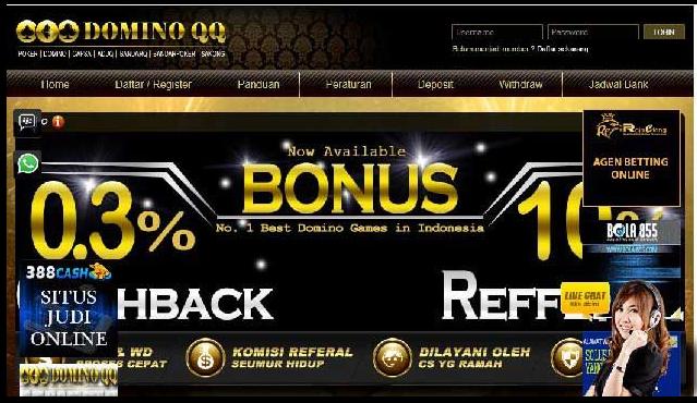 Agen Judi Poker Bandarqq Online Terpercaya