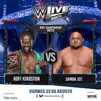 Luchas 2 WWE ¡En vivo!  Bogotá
