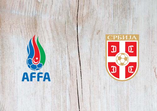Azerbaijan vs Serbia -Highlights 30 March 2021