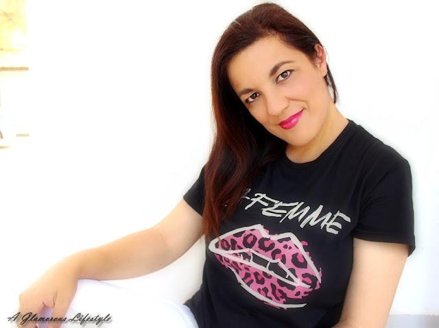 t-shirt donna con stampe