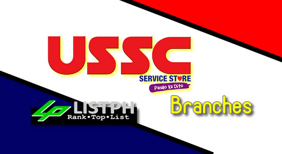 List of USSC Service Store branches