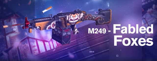 M249 Fabled Foxes