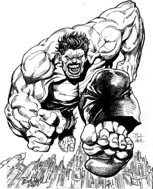 free coloring pages incredible hulk - photo#40