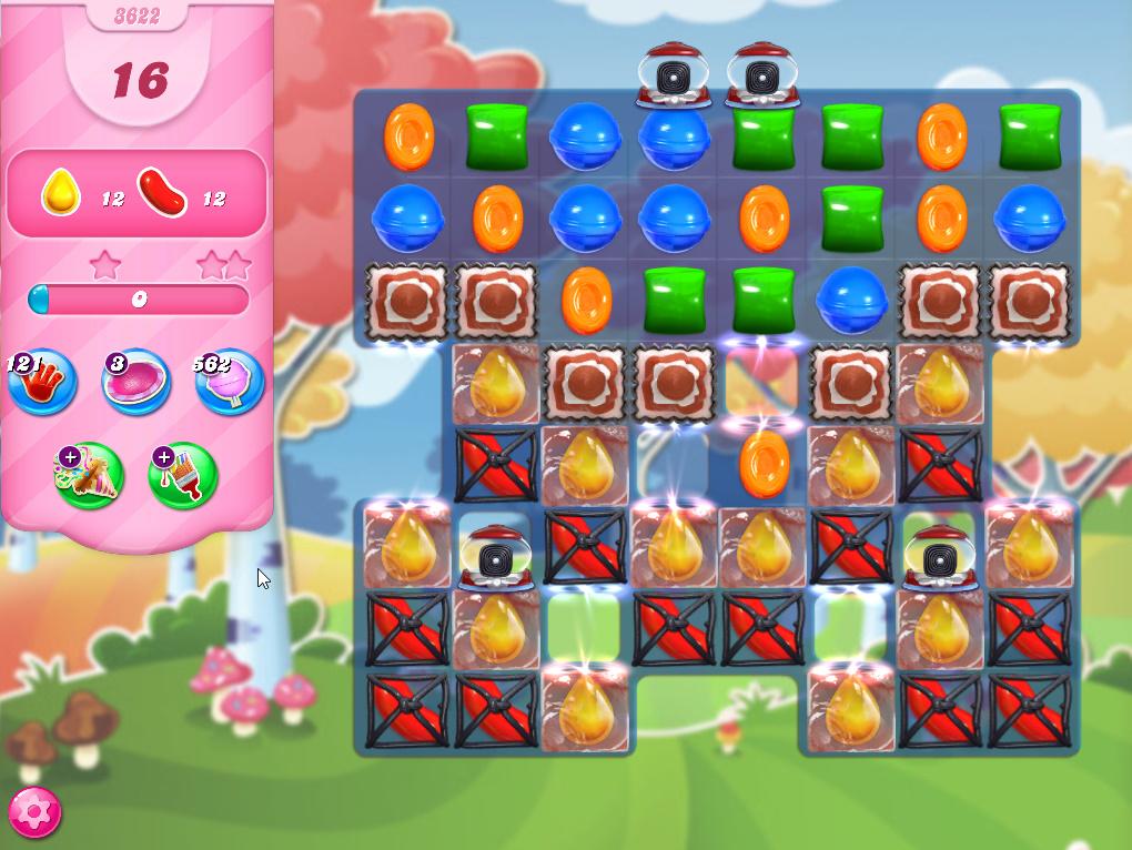 Candy Crush Saga level 3622