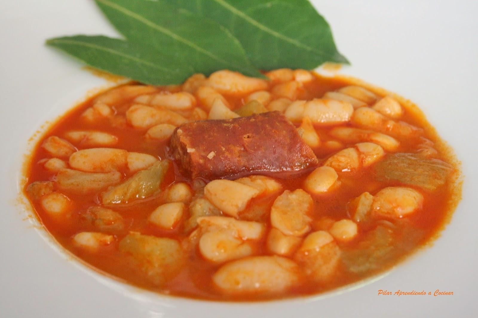 Aprendiendo A Cocinar Potaje De Habichuelas Con Chorizo