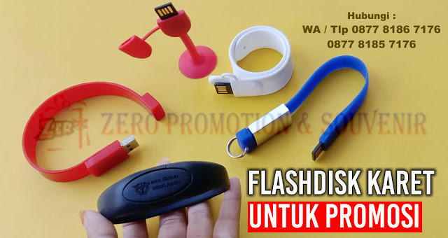 Jual Flashdisk Karet untuk promosi produk