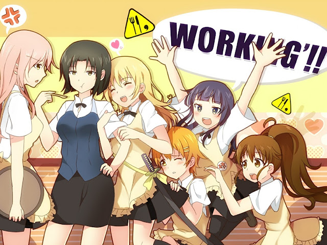 Download OST Opening Ending Anime Working!! Season 2 Full Version