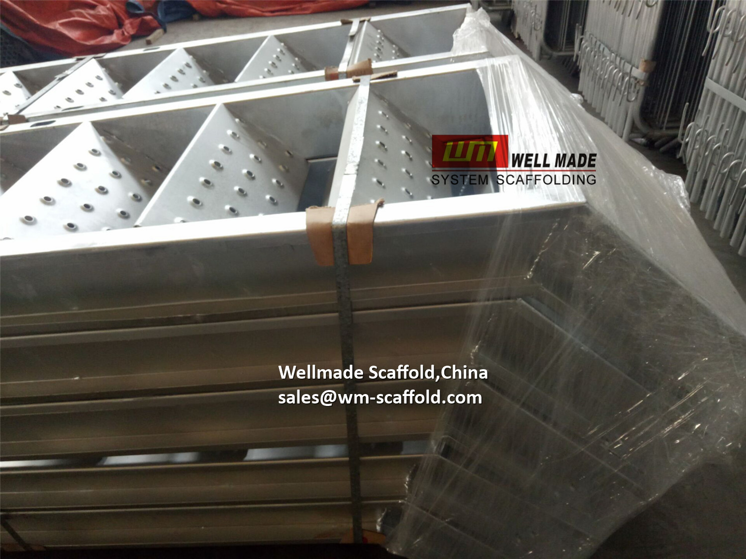Kwikstage Scaffolding Stairs-Construction Access Staircase