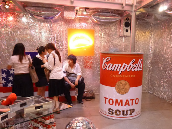 Very big can of Campells Tomato Soup in Siam Center, Bangkok