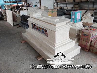 Model Makam Perjamuan Kudus, Makam Kristen Modern, Contoh Kuburan Kristen Marmer