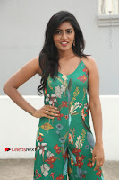 Actress Eesha Latest Pos in Green Floral Jumpsuit at Darshakudu Movie Teaser Launch .COM 0041.JPG