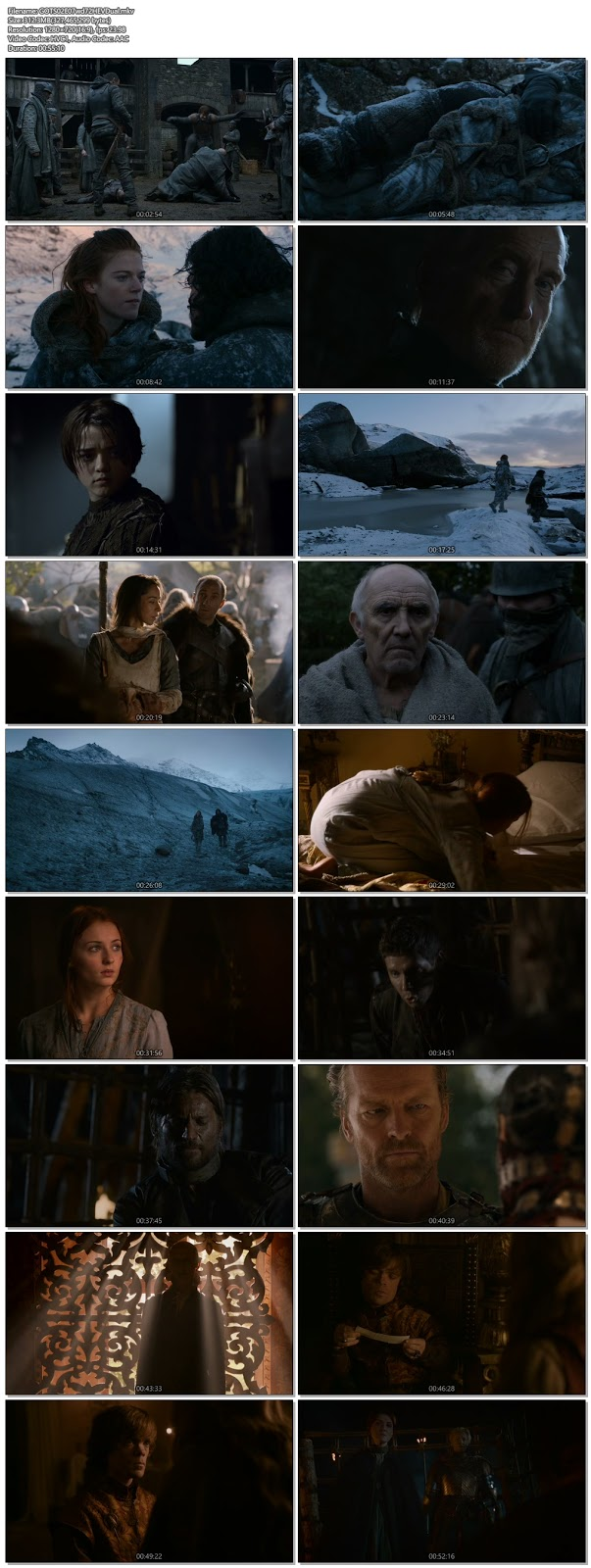 Game Of Thrones S02E07 Dual Audio 720p BRRip 300Mb x265 HEVC Free Download and Watch online only at world4ufree.vip