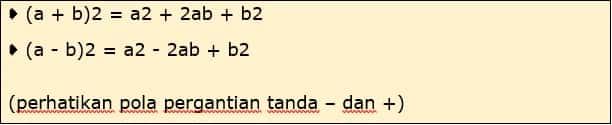 Jenis Persamaan 2