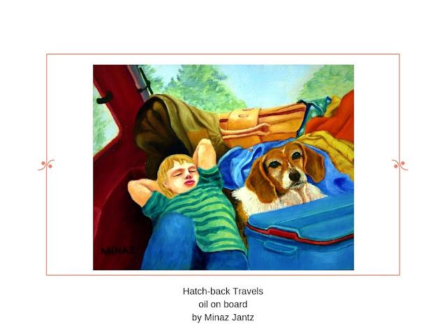 Hatch Back Travels by Minaz Jantz