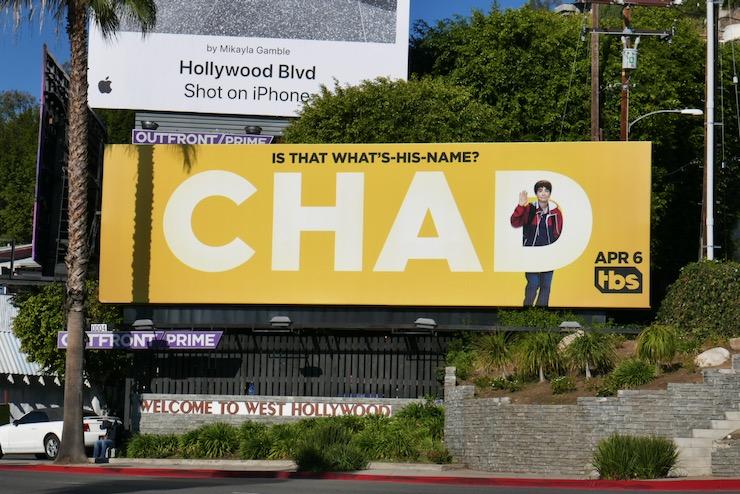 Chad series premiere billboard