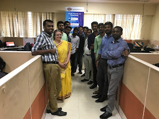 Codework Solutions team based in Thapasya Building, Infopark