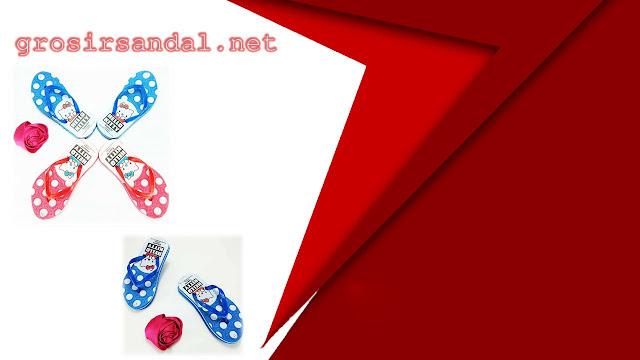 SANDAL ANAK | SANDAL MOTIF | SANDAL SPON ANAK