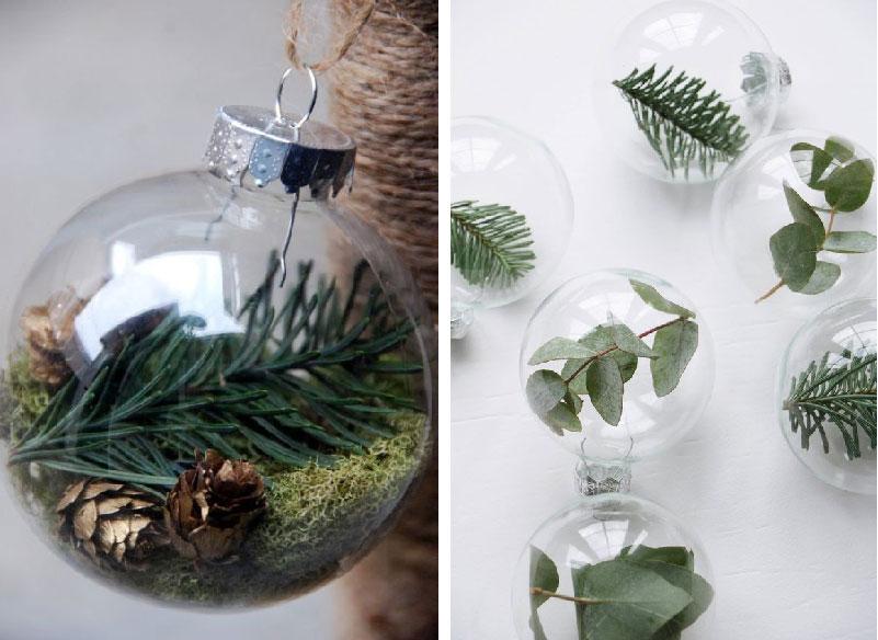sfere fai da te per l'albero di Natale