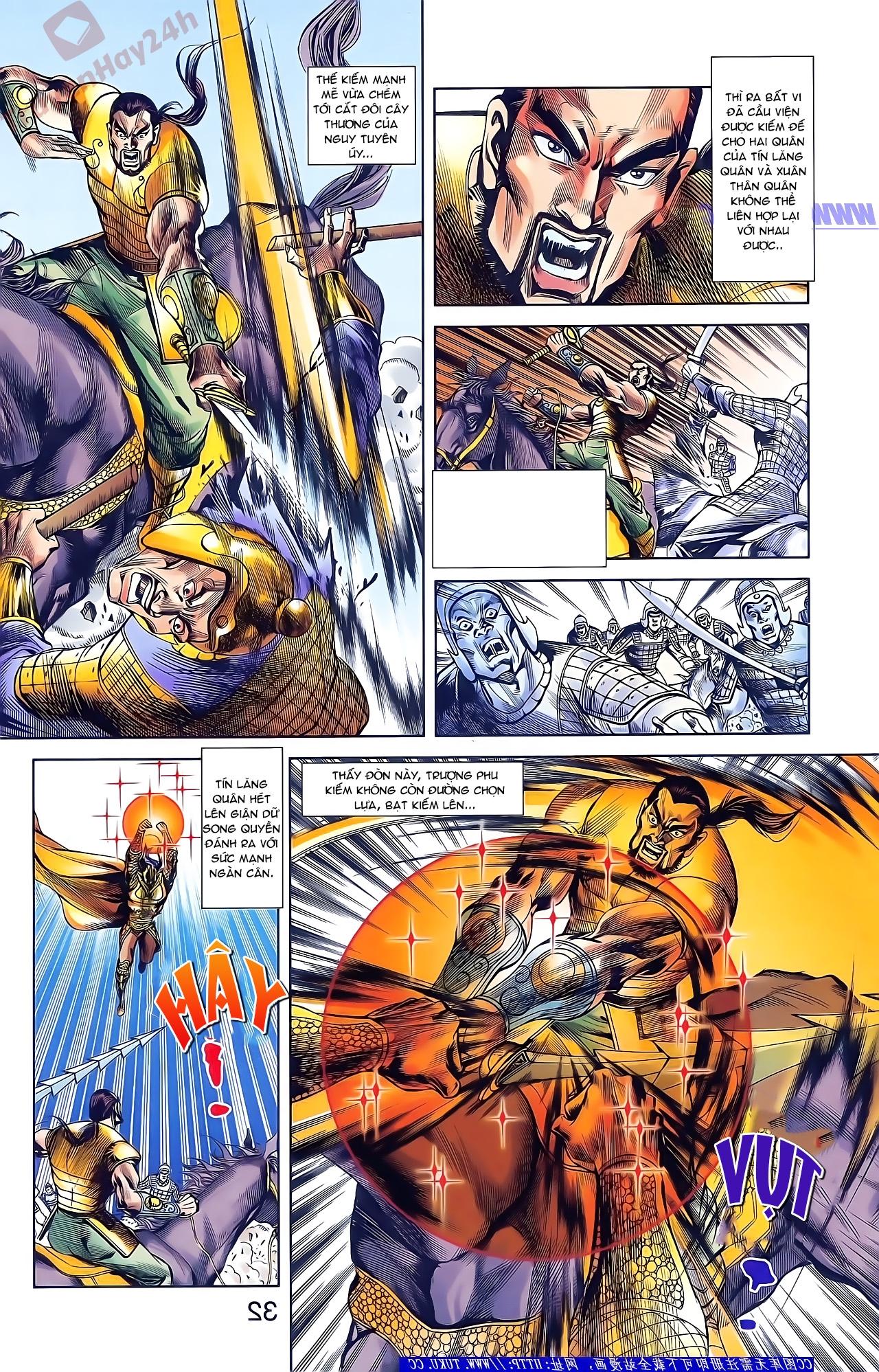 Tần Vương Doanh Chính chapter 48 trang 18