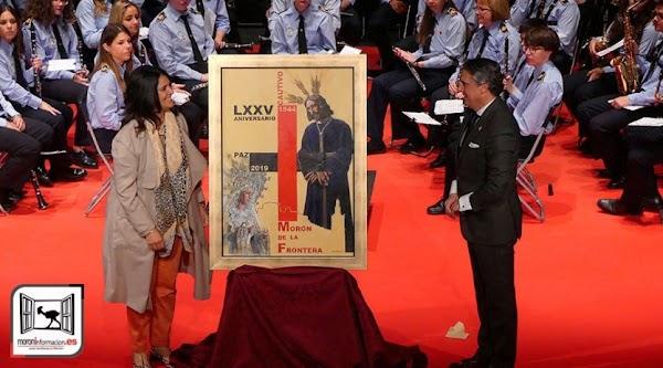 La Hermandad de El Cautivo de Morón presentó el cartel y el vídeo con motivo de su 75º aniversario