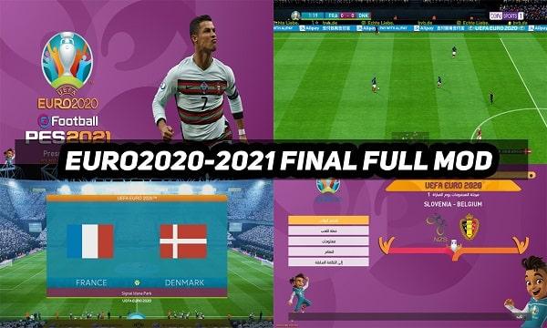 PES 2017 FINAL FULL MOD EURO 2021