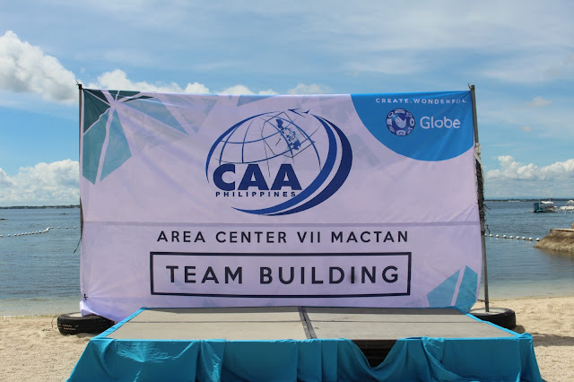 CAAP Area VII Mactan Team Building Seminar