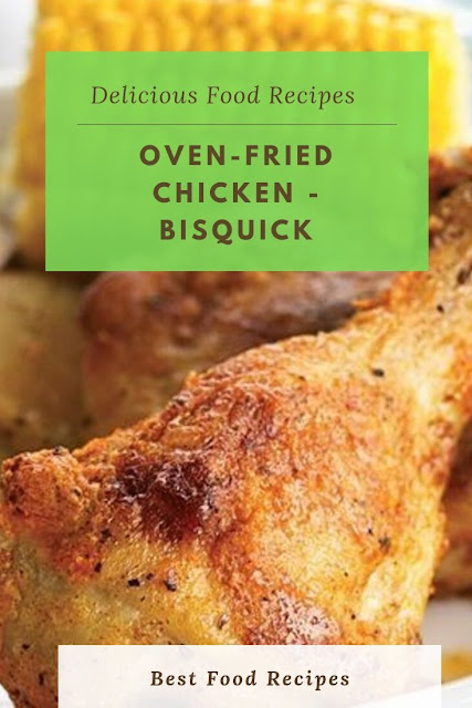 #Oven #Fried #Chicken #Bisquick