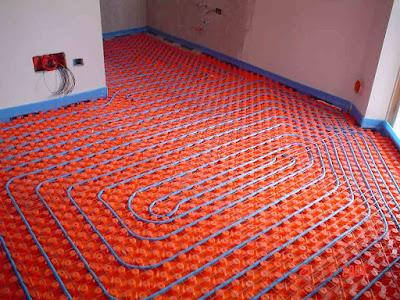 riscaldamento a pavimento-impianto geotermico-rinnovabile