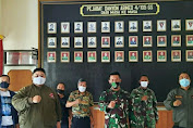 Danyon Armed 4/105 GS Letkol Arm Awan Febrianto Terima Audiensi Jurnalis Bela Negara