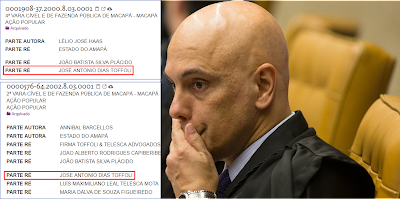 Cercado Alexandre de Moraes revoga censura que ele próprio determinou
