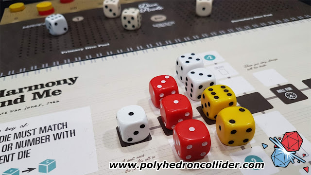 Polyhedron Collider UK Games Expo First Thoughts Preview - The Gig - Main Song Board
