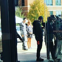 Inconceivable Nicolas Cage and Nicky Whelan Set Photo 1 (13)