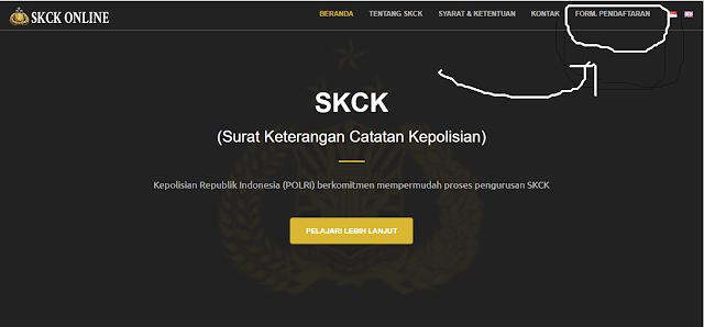 Cara Membuat SKCK Secara Online