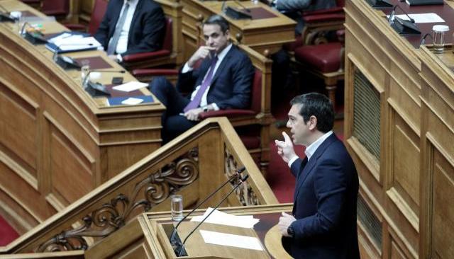 Επίκαιρη ερώτηση Τσίπρα προς Μητσοτάκη για τα voucher της ντροπής και αρπαχτής