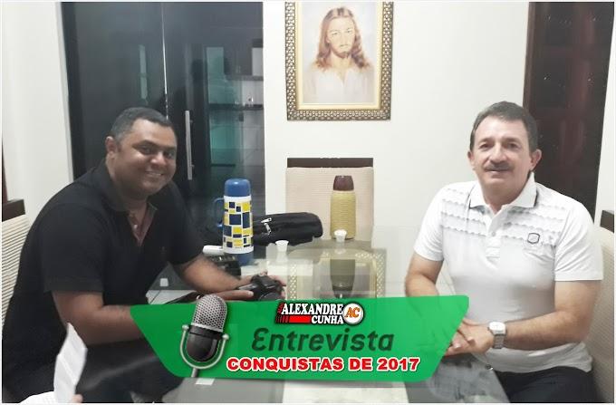 Áudio: Em entrevista ao Blog Alexandre Cunha, Prefeito Magno Bacelar destaca conquistas de seu Governo em 2017