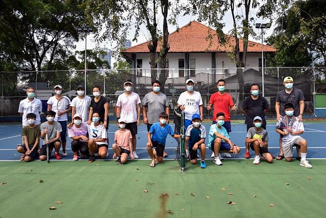 Diikuti Sejumlah Mantan Petenis Papan Atas Indonesia, Gelaran Perdana Infinite Family Fun Doubles Challenge Berlangsung Sukses