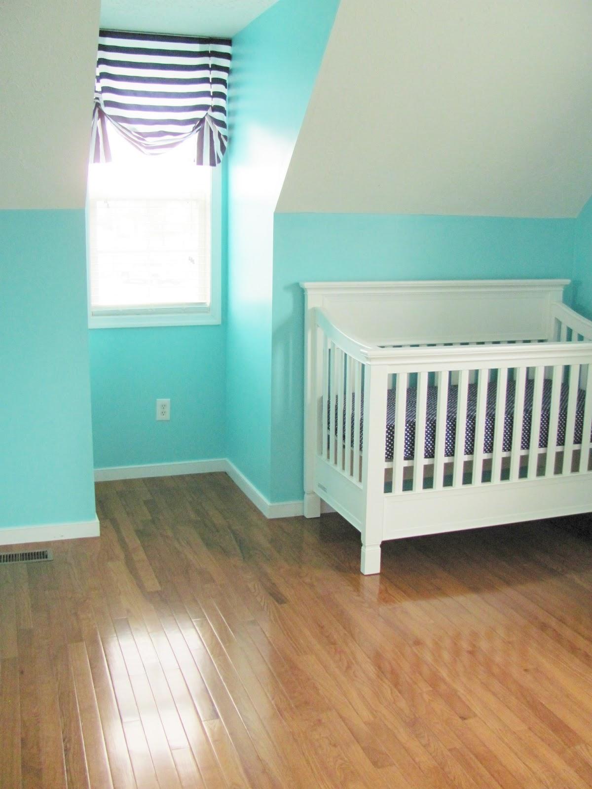 Hardwood Floors And Getting Crafty In The Nursery