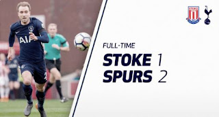 Stoke City vs Tottenham Hotspur 1-2