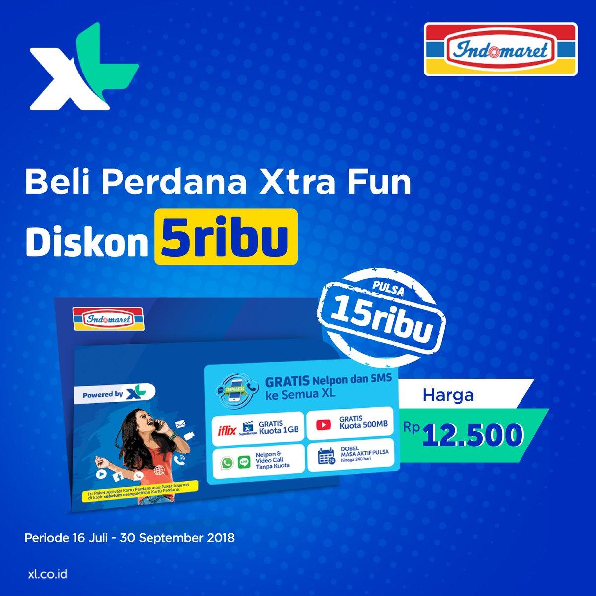 Indomaret - Promo Beli Perdana Xtra Fun Diskon 5 Ribu (s.d 30 Sept 2018)